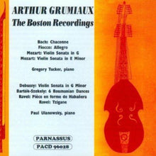 Load image into Gallery viewer, ARTHUR GRUMIAUX: THE BOSTON RECORDINGS