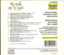 Load image into Gallery viewer, ERICH KUNZEL & CINCINNATI POPS ORCHESTRA: YOUNG AT HEART