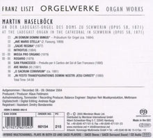 Load image into Gallery viewer, LISZT: Organ Works, VOLUME 5 - MARTIN HASELBOCK (HYBRID SACD)