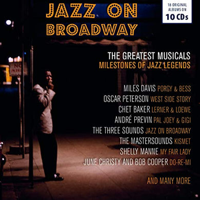 JAZZ ON BROADWAY (10 CDS)