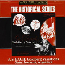 Load image into Gallery viewer, BACH, J.S.: GOLDBERG VARIATIONS - GUSTAV LEONHARDT (1952)