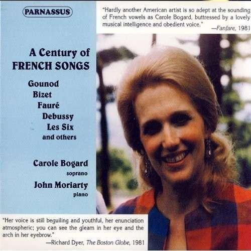 CAROLE BOGARD: A CENTURY OF FRENCH SONGS (2 CDS)