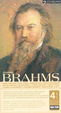 BRAHMS: Symphonies, Concertos, Chamber Music (4 CDS)
