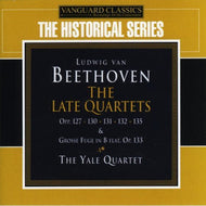 BEETHOVEN: THE LATE QUARTETS (OPP 127, 130, 131, 132, 135, 133, GROSSE FUGE) - YALE STRING QUARTET (3 CDS)