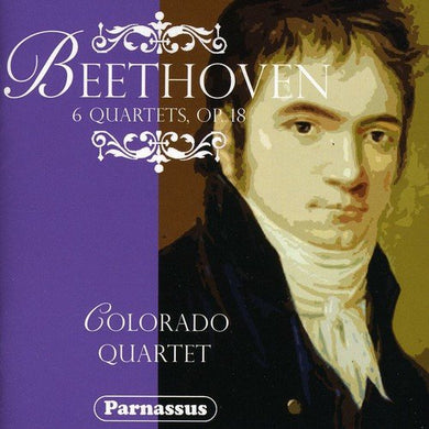 BEETHOVEN: EARLY STRING QUARTETS - COLORADO QUARTET (2 CDS)