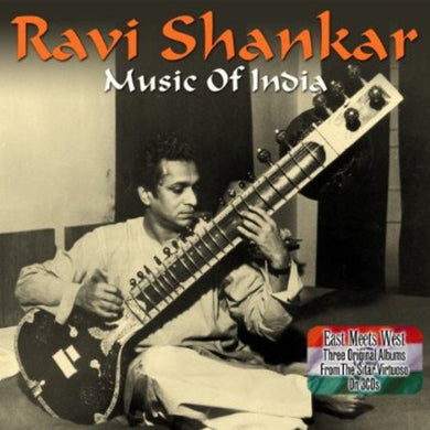RAVI SHANKAR: MUSIC OF INDIA (3CDs)