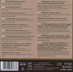 MASTERS OF CLASSICAL MUSIC (10 CDs)