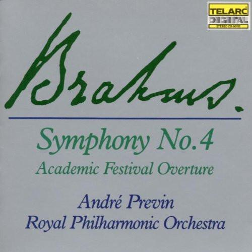 BRAHMS: Symphony No.4, Academic Festival Overture - Andre Previn, Royal Philharmonic Orchestra