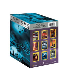 BEST OF NATIONAL GEOGRAPHIC - EXPLORE YOUR MIND (9 DVDS)