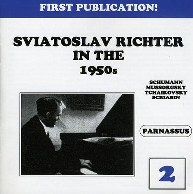 RICHTER IN THE 1950'S - VOLUME 2 (2 CDS)