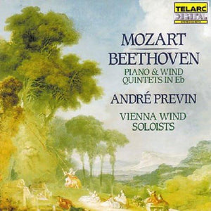 Mozart & Beethoven: Piano & Wind Quintets - Andre Previn, Vienna Wind Soloists