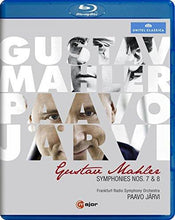 Load image into Gallery viewer, MAHLER: SYMPHONIES NOS. 7 & 8 (BLU-RAY) - JAERVI; FRANKFURT RADIO SYMPHONY ORCHESTRA