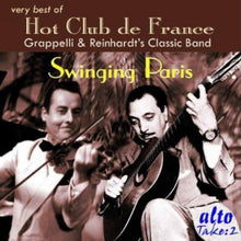 Load image into Gallery viewer, GRAPPELLI & REINHARDT: THE BEST OF HOT CLUB DE FRANCE