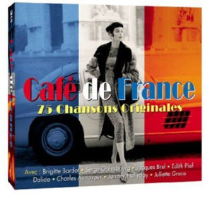 CAFE DE FRANCE: 25 ORIGINAL CHANSONS (2 CDS)