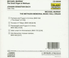Load image into Gallery viewer, Bach: The Great Organ at Methuen - Michael Murray, organ