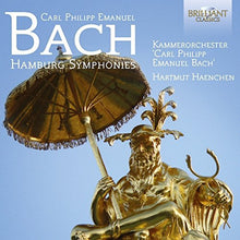 Load image into Gallery viewer, BACH, C.P.E.: Hamburg Symphonies - Kammerorchester Carl Philipp Emanuel Bach, Hartmut Haenchen (2 CDS)