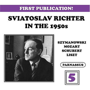 RICHTER IN THE 1950'S - VOLUME 5 (2 CDS)