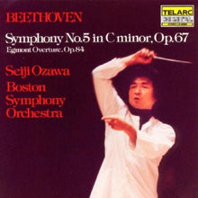 Load image into Gallery viewer, Beethoven: Symphony No.5 In C Minor, Op. 67 & Egmont Overture - Seiji Ozawa and Boston Symphony Orchestra