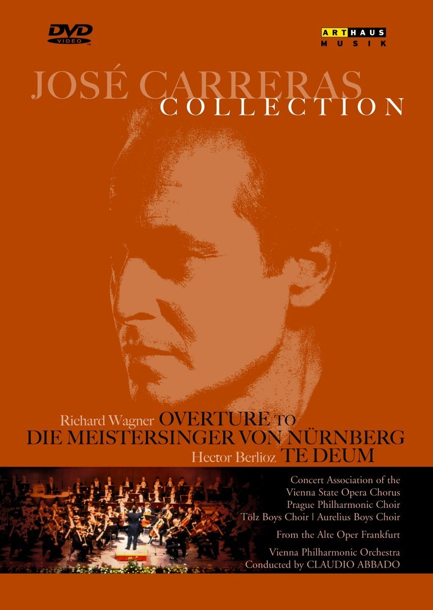 JOSE CARRERAS COLLECTION: Wagner & Berlioz - Carreras & Abbado In Frankfurt (DVD)