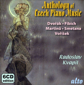 ANTHOLOGY OF CZECH PIANO MUSIC, VOLUME 2 - KVAPIL (6 CDS)