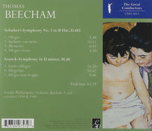 Load image into Gallery viewer, BEECHAM CONDUCTS SCHUBERT & FRANCK
