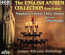 Load image into Gallery viewer, THE ENGLISH ANTHEM COLLECTION FROM OXFORD (4 CDS)