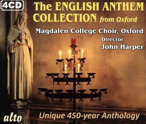 THE ENGLISH ANTHEM COLLECTION FROM OXFORD (4 CDS)