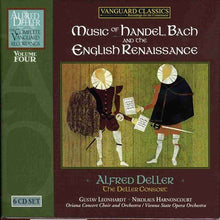 Load image into Gallery viewer, ALFRED DELLER: COMPLETE VANGUARD CLASSICS RECORDINGS, VOLUME 4 - MUSIC OF HANDEL, BACH & THE ENGLISH RENAISSANCE (6 CDS)