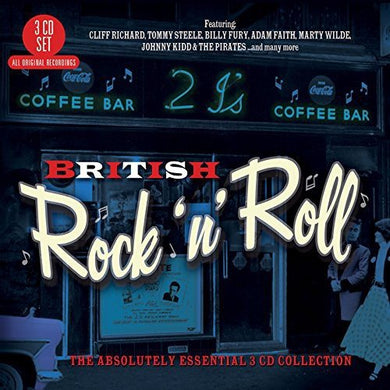 BRITISH ROCK 'N' ROLL: The Absolutely Essential Collection (3 CDs)