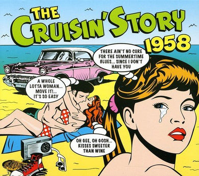 CRUISIN' STORY 1958: Danny & Juniors, Champs, Monotones, Royal Teens, Ricky Nelson (2 CDs)