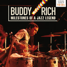 Load image into Gallery viewer, BUDDY RICH: Milestones of a Jazz Legend (10 CDS)