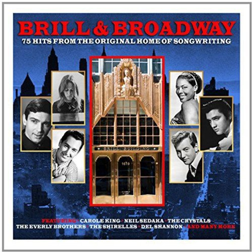 BRILL & BROADWAY - 75 HITS FROM THE HOME OF SONGWRITING (3 CDS)