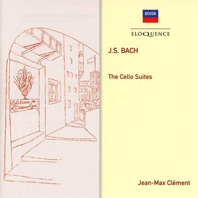 BACH: UNACCOMPANIED CELLO SUITES - JEAN-MAX CLEMENT (2 CDS)