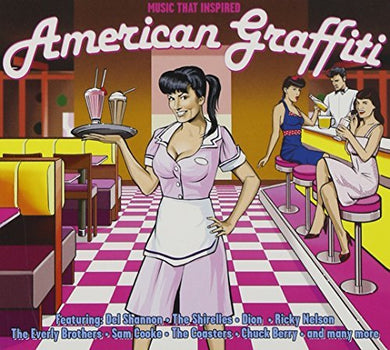 AMERICAN GRAFFITI : Ricky Nelson, Everly Brothers, Coasters, Chuck Berry, Cadillacs (3 CDS)