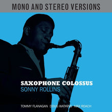 Load image into Gallery viewer, SONNY ROLLINS: SAXOPHONE COLOSSUS (2CD SET Stereo and Mono Versions)