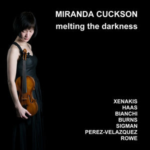 MIRANDA CUCKSON - MELTING THE DARKNESS