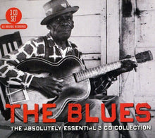 Load image into Gallery viewer, THE BLUES: The Absolutely Essential 3 CD Collection