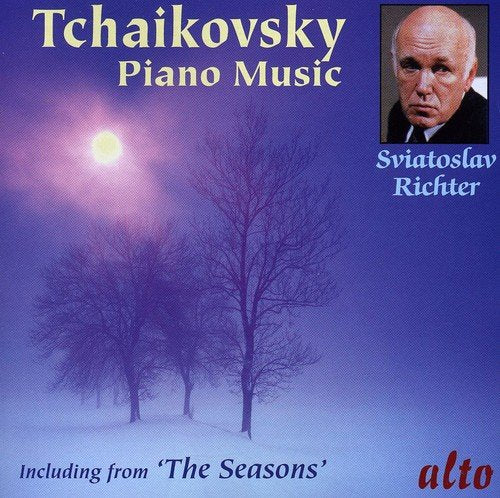 TCHAIKOVSKY: PIANO MUSIC INCLUDING THE SEASONS - SVIATOSLAV RICHTER
