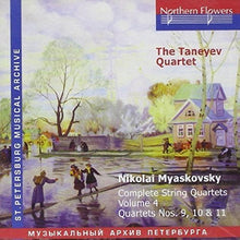 Load image into Gallery viewer, MIASKOVSKY - COMPLETE STRING QUARTETS, VOLUME 4