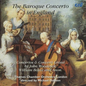 The Baroque Concerto in England - Thames Chamber Orchestra