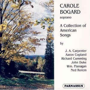 CAROLE BOGARD: A COLLECTION OF AMERICAN SONGS (2 CDS)
