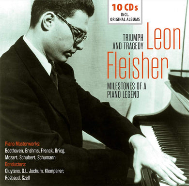 LEON FLEISHER: MILESTONES OF A PIANO LEGEND (10 CDS with FREE DOWNLOAD)