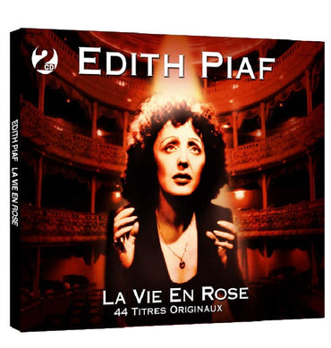 EDITH PIAF: La Vie En Rose (2 CDs)