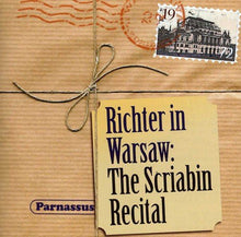Load image into Gallery viewer, RICHTER IN WARSAW: THE SCRIABIN RECITAL
