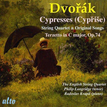Load image into Gallery viewer, DVORAK: CYPRISE FOR STRING QUARTET; TERZETTO IN C MAJOR, OP. 74; CYPRISE (ORG. SONG VERSION) - ENGLISH STRING QUARTET, LANDRIDGE