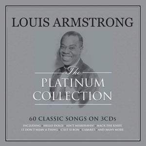 LOUIS  ARMSTRONG: Platinum Collection (3 CDs)