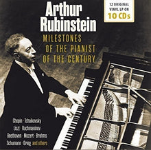 Load image into Gallery viewer, ARTHUR RUBINSTEIN: MILESTONES OF THE PIANIST OF THE CENTURY (10 CDS)