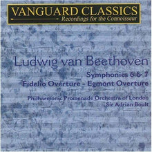Load image into Gallery viewer, BEETHOVEN: SYMPHONIES 6 & 7 - BOULT, LONDON PHILHARMONIC (2 CDS)