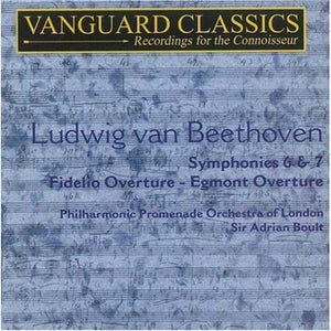 BEETHOVEN: SYMPHONIES 6 & 7 - BOULT, LONDON PHILHARMONIC (2 CDS)