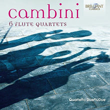 Load image into Gallery viewer, CAMBINI: 6 Flute Quartets - Quartetto DuePiùDue (2 CDS)